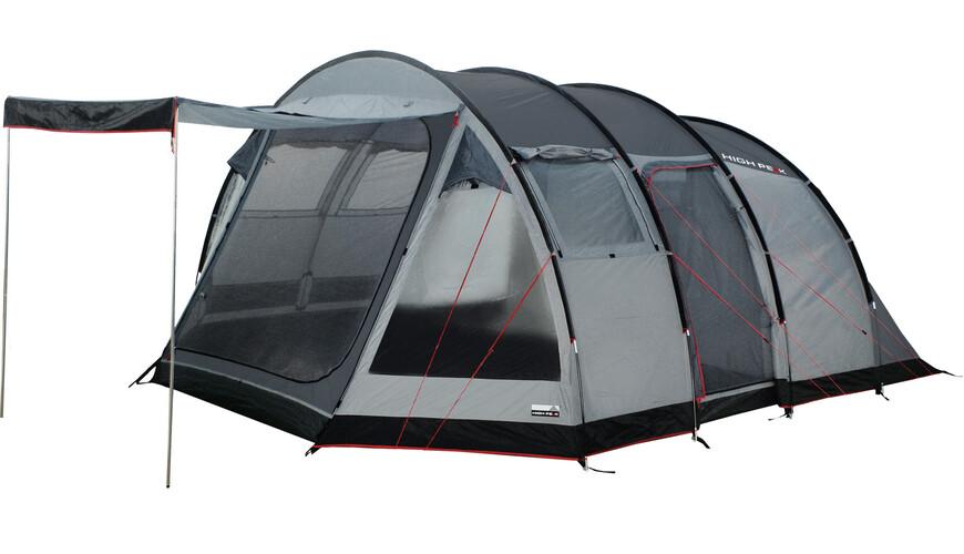 High Peak Durban 6 tent grijs